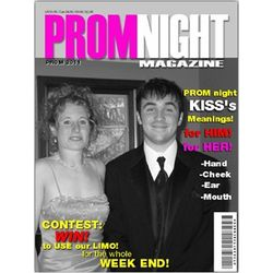 Prom Night Magazine Cover