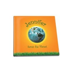 "Personalized ""Saves the Planet"" Story Book"