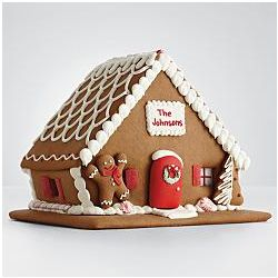 Personalized Edible Gingerbread House