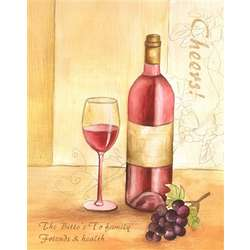 Red, Red Wine Personalized Art Print