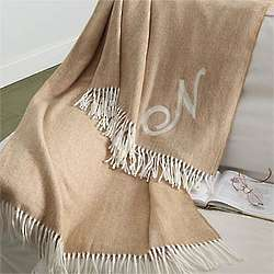 Soft Sensations Embroidered Afghan