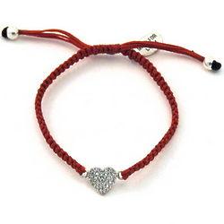 Full Heart CZ Bracelet