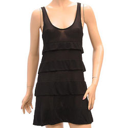 Armani Jeans Black Knee Length Dress