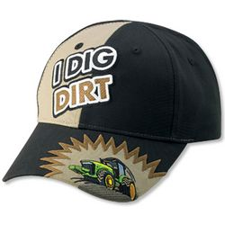 John Deere Youth I Dig Dirt Cap