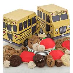 School Bus Baked Treats Gift Box