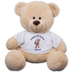Personalized Birthday Teddy Bear
