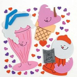 Valentine Treat Candy Magnet Craft Kit