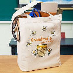 Little Honeys Canvas Tote Bag