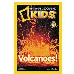 Volcanoes Kids Reader Book