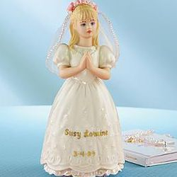 Personalized Lenox Communion Figurine