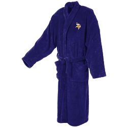 Minnesota Vikings Men's Ultra Plush Bathrobe