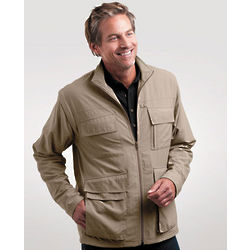 Men's Adventure and Travel Utility Jacket