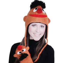 Sesame Street Ernie Knit Hat