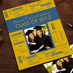 School Spirit Personalized Deluxe Photo Album