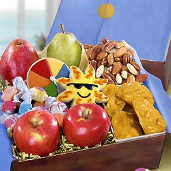 Summer Fun Fresh Fruit and Snacks Gift Box