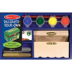 Decorate Your Own Pirate Chest Kit