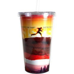 Persistence Runner Acrylic Straw Tumbler