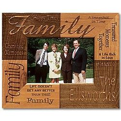 Personalized 5x7 Family Frame