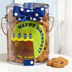 It's Party Time Birthday Cookies in a Can