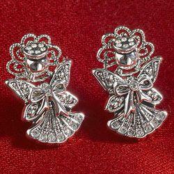 Guardian Angel Pin Earrings
