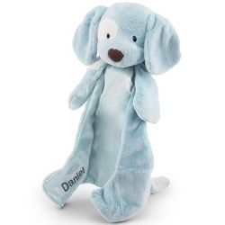 Baby's Blue Puppy Huggy Buddy