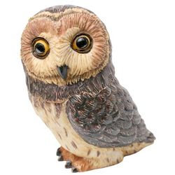 Short Ear Owl Trinket Box