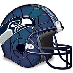 Seattle Seahawks Football Helmet Tabletop Accent Lamp