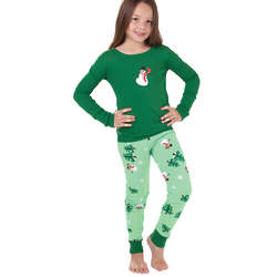 Let it Snow, Man! Pajamas for Girls