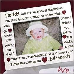 Daddy's Valentine Frame
