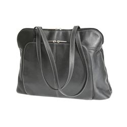 Royce Leather Ladies' Tote with Room for Laptop