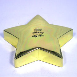 My Shining Star Paperweight