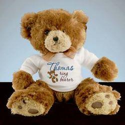 Ring Bearer Personalized Teddy Bear