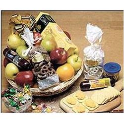Party Gift Basket with Wisconsin Sausage