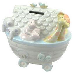 Noah's Ark Ceramic Piggy Bank