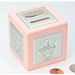 Personalized Baby Girl Personalized Bank