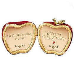 Apple of my Eye Music Box For Granddaughter