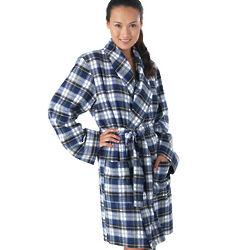 Tartan Plaid Robe
