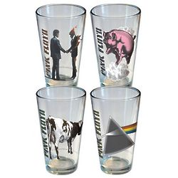 Retro Pink Floyd Pint Set