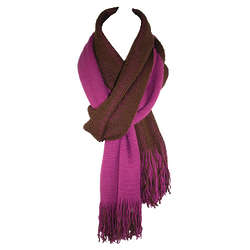 Two-Tone Reversible Scarf
