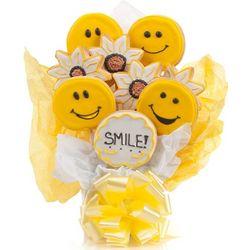 Smile Cookie Bouquet