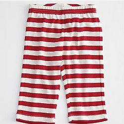 Cotton Striped Baby Pants