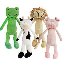 Tall Animal Stuffed Toy Set