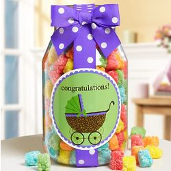 Congrats to the New Parents Sweets Jar