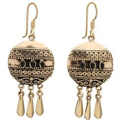 Cairo Onyx Earrings