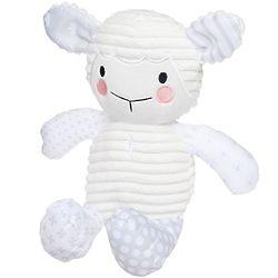 Baptismal Lamb Stuffed Animal with Prayers