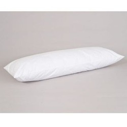 White Goose Feather and Down Body Pillow