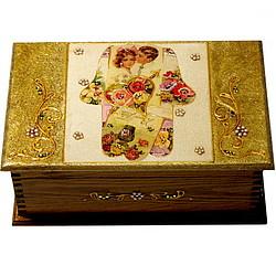 Handmade Hamsa Jewelry Box