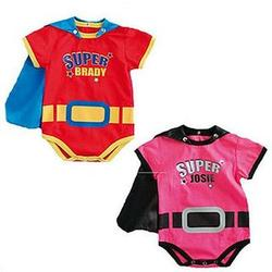 Personalized Super Baby Romper