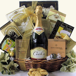 Elegant Expressions: Cook's California Champagne Gift