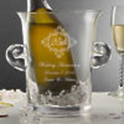 Personalized Anniversary Momento Wine Chiller Ice Bucket